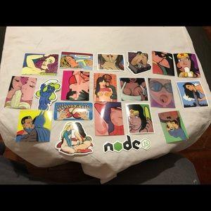 20 sticker bundle